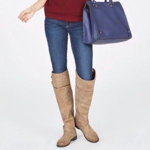 JustFab marlynn wide calf boots